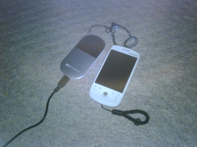 Pocket WiFi導入。
