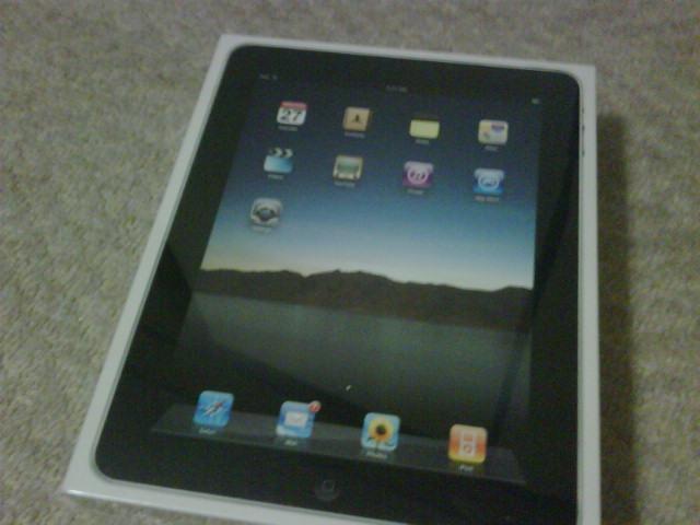 iPad購入。